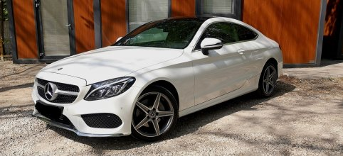 Mercedes C200 AMG Coupe